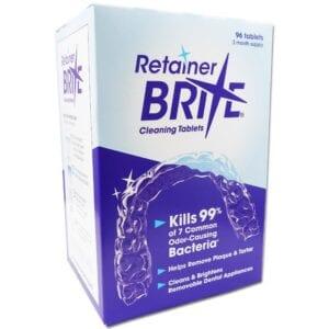 Retainer Brite ~ 96 Tablets