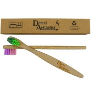 Childrens Bamboo Toothbrushes ~ Small Soft Bristles Set of 2